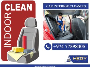 car interior cleaning in doha